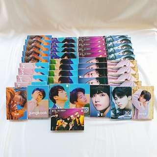 BTS LOMO CARDS