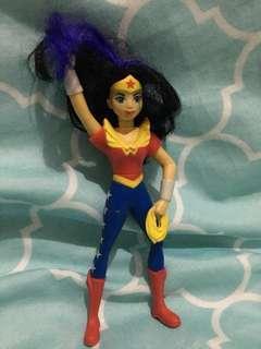 Wonder Woman McDonalds Toy