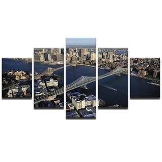 🚚 Brooklyn Bridge Canvas Print