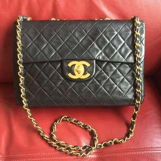 8fb270e5ce0d Authentic Chanel Vintage 24K Oversized CC Bag