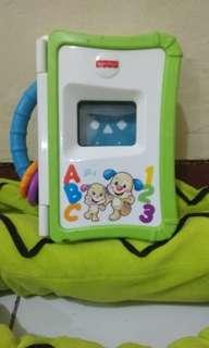 Fisher price laugh n learn apptivity storybook reader