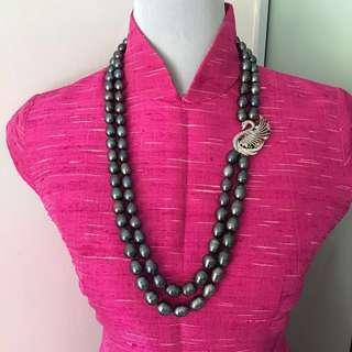 Freshwater  pearl necklace - Long