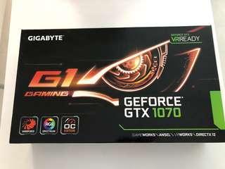 🚚 GTX 1070 - Gigabyte G1 Gaming - 8GB