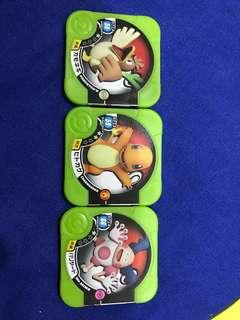 Pokemon Tretta (all 3)
