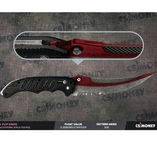 STEAM CSGO Flip Knife Autotronic Field Tested