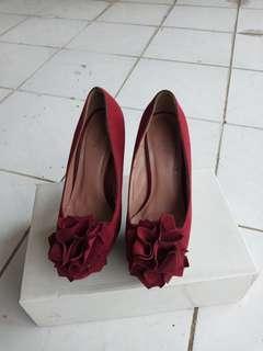 Flower heels amante