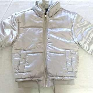 *REPRICED* Factorie Silver Puffer Jacket