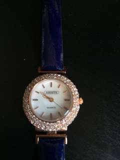 Abiste Japan brand genuine leather Watch日本品牌女裝手錶