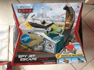 Spy jet escape
