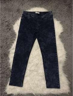 Tuck and Dye Skinny Jeans