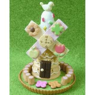 【全新*2008年絕版】已停產 Re-ment Rement Candy House no.4 迷你食玩果子場景風車糖果屋 dollhouse miniature