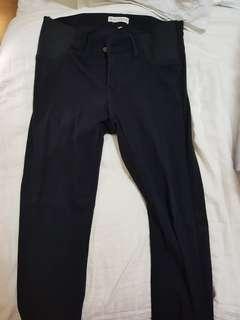 Mayarya black maternity jeans