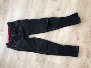 Komine superfit Riding Jeans pk718 black