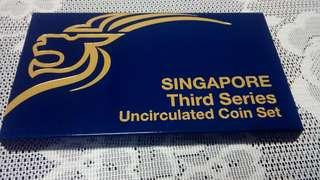 Singapore Third Series UNC Coin Set