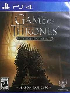 PS4 Game - Game of Thrones