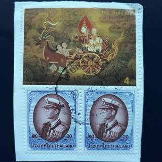 THSTM. 1998-05-10, 1997-05-05 Thailand Stamps.