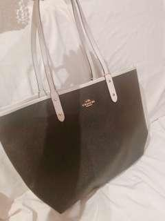 Coach double side bag