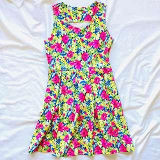 Redhead Floral Dress (REPRICED)