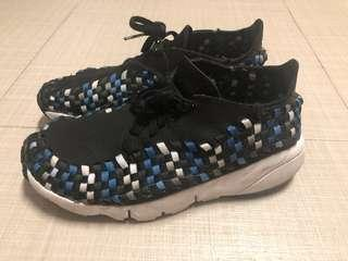 Nike air footscape woven nm 黑藍 875797005