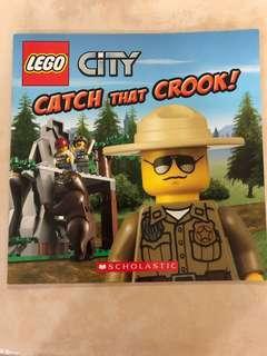 🚚 LEGO city book - Catch that Crook