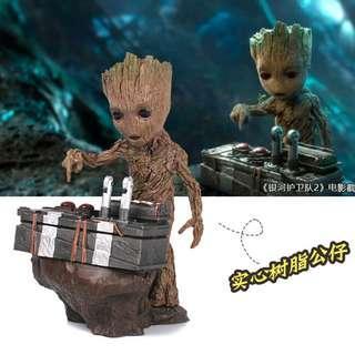 Miniatur Karakter Marvel Groot Guardians of the Galaxy Model 2