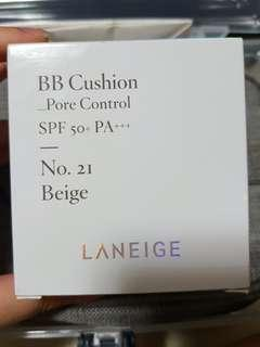 Laneige BB Pore Control Cushion in Shade 21 Beige