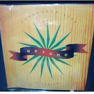 Beyond Unplugged Live In Concert 8吋LD(1993)雙碟 罕有未開封