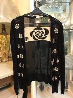 Rose Knit Cardigan