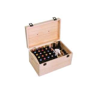 多功能精油木盒子收纳盒格精油, 香薰油, 收纳盒实木盒精木箱多特瑞essential oil