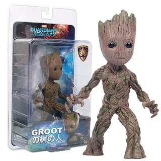 Miniatur Karakter Marvel Groot Guardians of the Galaxy Model 4