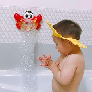 Bubble Crap Pembuat Gelembung Sabun Balon Otomatis dengan Musik Red