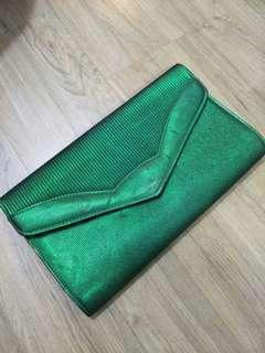 Green Large Clutch