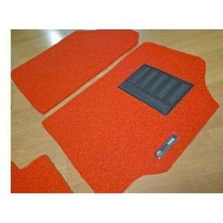 TOYOTA VIOS OEM FITMENT CAR FLOOR COIL MAT 3 PCS  COLOR AVAILABLE - RED, BLACK ,GREY ,BEIGE ,BROWN ,GREEN & BLUE...