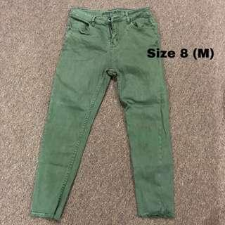 Garage Jeans (army green) #MFEB20