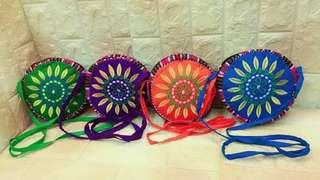 Embroidered round sling