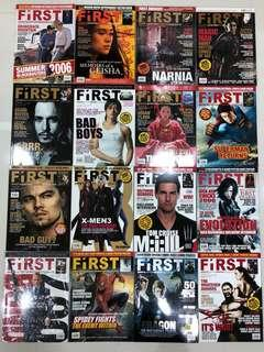 First magazine classic covers