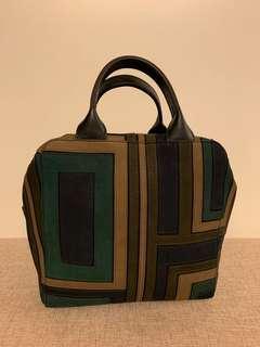 Brand new Tory Burch suede handbag