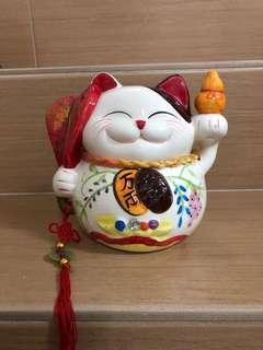 Fortune cat coin box