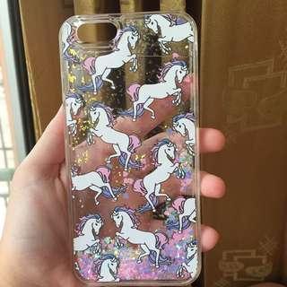 Unicorn Glitter Case Iphone 6