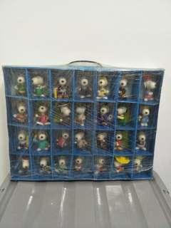 Collection of Snoopy from 28 countries