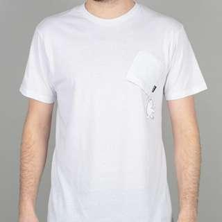 RipNDip Hang In There T Shirt White