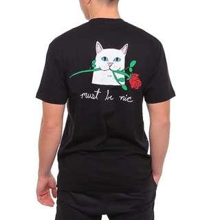 RipNDip Romantic Nerm T Shirt Black