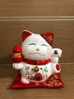 Fortune cat coin box 8888