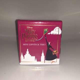 PRIMARK PS mini trio lipstick Mary Poppins edition