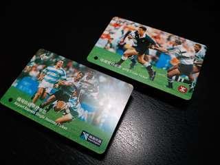1999年 香港國際七人欖球賽 車票