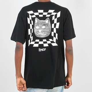 RipNDip Illusion T Shirt Black