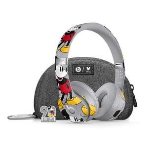 beats solo3 Wireless Mickey. 90週年別注版 降噪音藍牙耳機