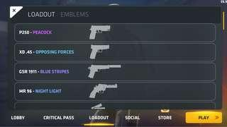 🚚 Critical Ops account