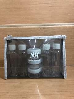 H&M travel toiletries refill