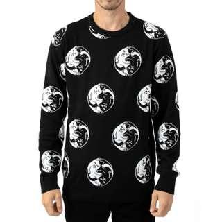 RipNDip Nermal Yang Sweater Black